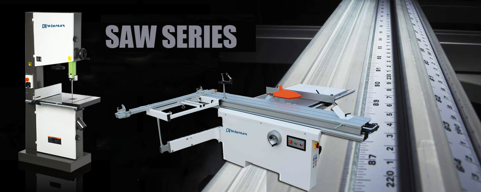 Winmax well suited for any types of woodworking machine